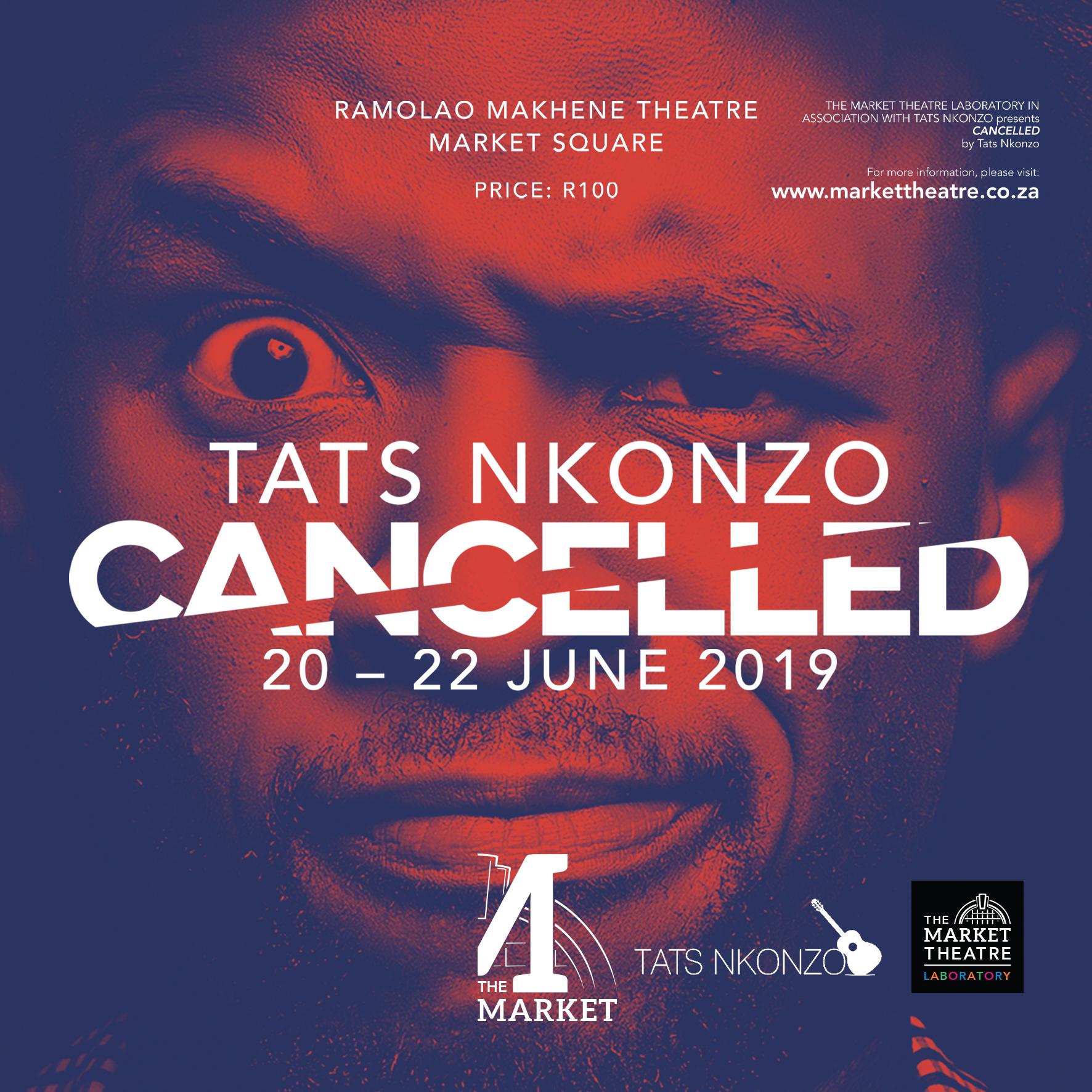 Tats Nkonzo – Cancelled – Social Media Assets